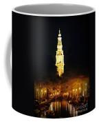 Amsterdam Church And Canal Coffee Mug
