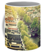 Amsterdam Holland Netherlands In Vintage Style Coffee Mug