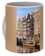 Amsterdam Houses Ar Sunset Coffee Mug