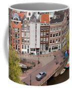 Amsterdam Houses From Above Coffee Mug