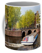 Amsterdam In Spring Coffee Mug