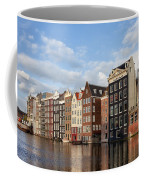 Amsterdam Old Town At Sunset Coffee Mug