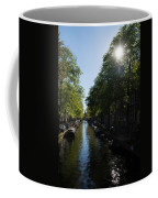 Amsterdam Spring - Green Sunny And Beautiful Coffee Mug