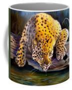 Amur Leopard  Spotted Something Coffee Mug