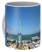 Amusement Park View Coffee Mug