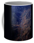 An Aerial View Of Winding Rivers Coffee Mug