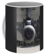 An Agm-65 Maverick Missile Mounted Coffee Mug