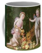 An Allegory Of Peace And Plenty Coffee Mug
