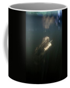 An Alligator Rises Up From The Depths Coffee Mug