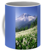 An Alpine Slope Turns White Coffee Mug