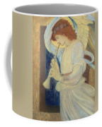 An Angel Playing A Flageolet Coffee Mug