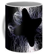 An Arcing Star Coffee Mug