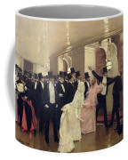 An Argument In The Corridors Of The Opera Coffee Mug