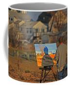 An Artist At Work Coffee Mug