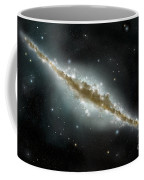 An Artists Depiction Of A Large Spiral Coffee Mug by Marc Ward