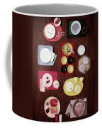 An Assortment Of Dinnerware Coffee Mug
