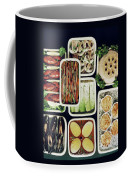 An Assortment Of Food In Containers Coffee Mug