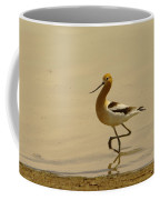 An Avocet Wading The Shore Coffee Mug