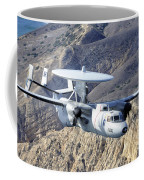 An E-2c Hawkeye Aircraft Flies Coffee Mug