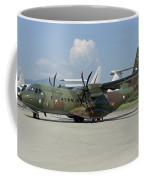 An Eads Casa C-295 Aircraft Coffee Mug