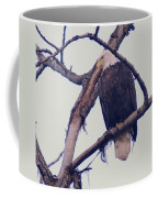 An Eagle Resting  Coffee Mug