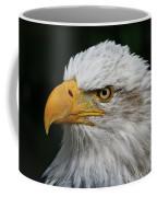 An Eagle's Portrait Coffee Mug