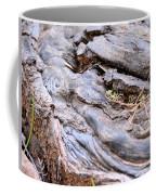 An Earthen Abstract Coffee Mug