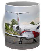 An Embraer Legacy 600 Private Jet Coffee Mug
