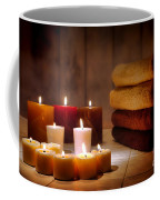 An Evening At The Spa Coffee Mug by Olivier Le Queinec