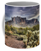 An Evening At The Superstitions Coffee Mug