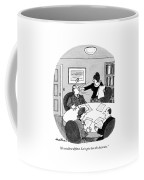 An Excellent Defense. Let's Give Coffee Mug