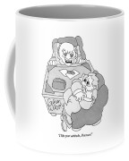 An Executive Speaks To An Employee Who Coffee Mug