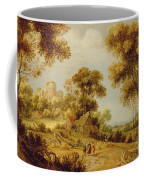 An Extensive Wooded Landscape Coffee Mug