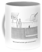 An Exterminator And Home-owner Look Coffee Mug