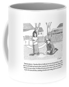An Exterminator Explains What He Is Doing Coffee Mug by Zachary Kanin