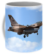 An F-16c Fighting Falcon From 64th Coffee Mug