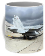 An Fa-18c Hornet On The Ramp At Marine Coffee Mug
