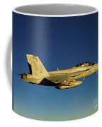 An Fa-18f Super Hornet Displays Coffee Mug