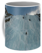 An Ice Climber In The Middle Coffee Mug