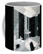 An Illustration Of A Bathroom Coffee Mug