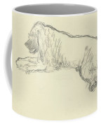 An Illustration Of A Dog Coffee Mug