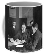 An Immigrant  Being Examined Coffee Mug