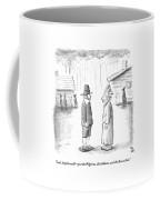 An Indian Chief Speaks To A Pilgrim Coffee Mug