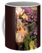 An Iris Surprise Center Coffee Mug
