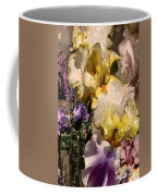 An Iris Surprise Right Coffee Mug