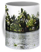 An Isolated Cottage On A Small Piece Of Land Coffee Mug