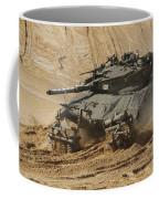 An Israel Defense Force Merkava Mark II Coffee Mug