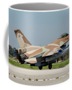 An Israeli Air Force F-16c Coffee Mug