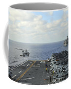 An Mh-60s Sea Hawk Takes Coffee Mug