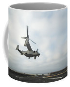 An Mv-22 Osprey Is Guided Onto Coffee Mug by Stocktrek Images